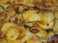 Bratkartoffeln in Nahansicht