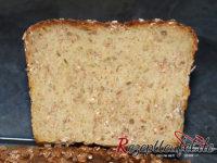 Das Brot aufgeschnitten