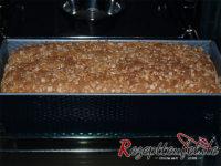 Das Brot nach 40 Minuten im Backofen