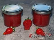 Fruchtaufstrich aus Erdbeeren