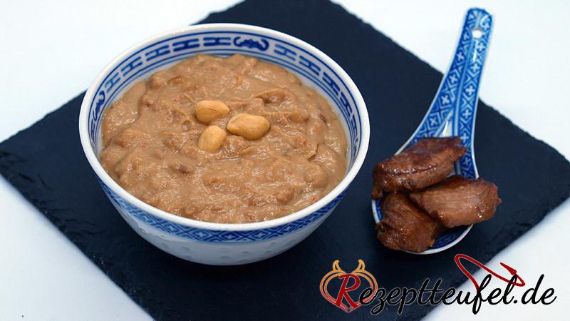 Erdnusssoße (ohne Kokosmilch)