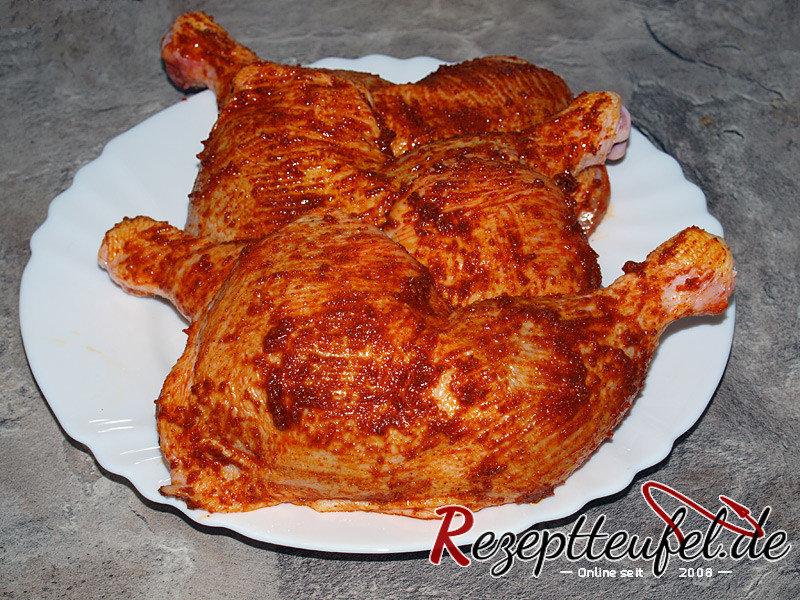 Hähnchengewürz Hähnchenmarinade Rezept Marinade Für Hähnchen