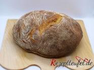 Das Kartoffelbrot aus dem runden Gärkorb