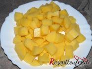Die vorgekochten Kartoffeln