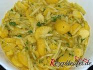 Der fertige Kartoffelsalat