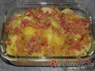Das Dressing auf den Kartoffeln